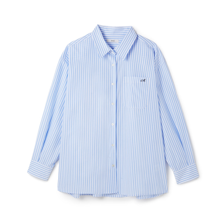 Grand Blue Stripe Shirt